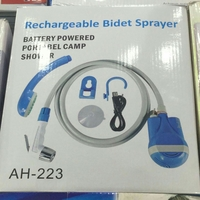 New 2 N 1Rechargeable Camping Shower /bidet/toilet Shattaff