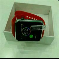 Used Smartwatch # Red # Sim And Bluetooth Options # Box Pack in Dubai, UAE