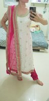 Beautiful lace Indian outfit Medium size