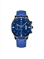 Used Men's watch stylish blue in Dubai, UAE