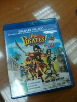 Used The pirates 3D Bluray movie in Dubai, UAE