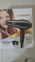 Sonar Hair Dryer #Packed👌Friday Sale👌