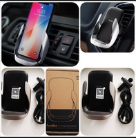 2 pieces of wireless charging car vent