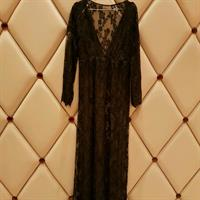 Used New Collection Dantel Long Dress Very Soft Material Free Size  in Dubai, UAE