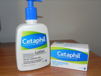 Cetaphil lotion and soap