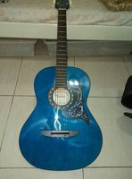 Used Tansen Acoustic Guitar with bag in Dubai, UAE