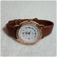 ONTIME BROWN WATCH FOR LADY