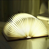 Led Book Chargable