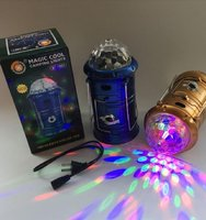 Used 3 in 1 Portable led lights gold color in Dubai, UAE