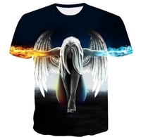 Used 3D unisex t-shirt, short sleeves (M) in Dubai, UAE