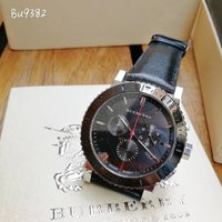 Used Burberry men's classic chronograph watch in Dubai, UAE