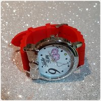 New cute red hello kitty watch