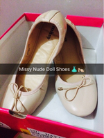 Missy Nude Colored Doll Shoes for Her