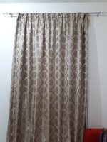 Used 3 Curtains stitch with lining in Dubai, UAE