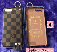 Used LV monogram Iphone7+/8+ Case Free Purse  in Dubai, UAE