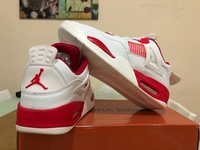 Used Jordan 4 White/Red Size 43 in Dubai, UAE