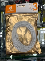 Used Lighting cable 3 meters white color  in Dubai, UAE