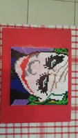 Used Joker portrait made of beads in Dubai, UAE