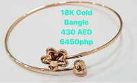 Used 18K Gold Bangle in Dubai, UAE