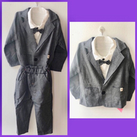 Used 3 pcs PatPat Gentleman Suit/ 2-3 yrs in Dubai, UAE