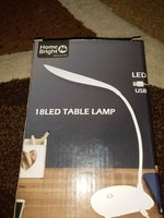 HOME BRIGHT 18LED TABLE LAMP