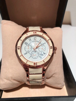 Used Men's watch Roségold/cream ch3815 in Dubai, UAE