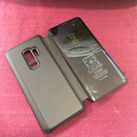 Used S9 Flip Cover/ Black  in Dubai, UAE