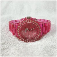 Pink London watch for women