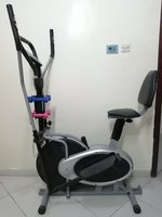 Used Eliptical Bicycle 3 in 1 with Dumbles in Dubai, UAE