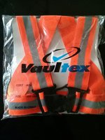 Used Safety jacket for bike red in Dubai, UAE