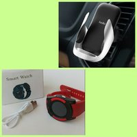 WIRELESS CHARGER + SMART WATCH(🌟offer)