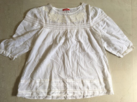 Used White embroidered blouse  in Dubai, UAE