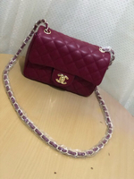 Used Chanel Maroon Sling Bag in Dubai, UAE