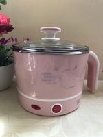 Used NEW Portable Mini Electric Pot PINK in Dubai, UAE