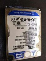 16GB laptop harddisk