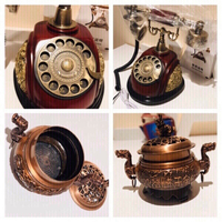 Used Vintage Antic Style telephone & gift  in Dubai, UAE