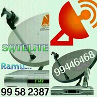 Used Satellite dish technician Indian ramu 99582387 99446468 in Dubai, UAE