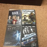 4 DVDs In Good Condition