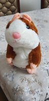 Used Adorable Talking Hamster Brown Toy!! in Dubai, UAE