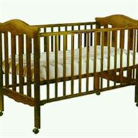 Used Baby Cot Wooden Large in Dubai, UAE