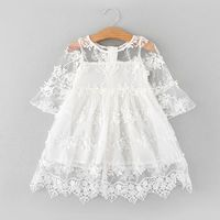 Used Patpat Fairy lace flower dress for girl in Dubai, UAE