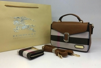 BURBERRY NEWEST FASHION HANDBAG  WALLET  SET