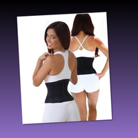 Used 2 pcs WAIST TRAINING BELT/ XS in Dubai, UAE