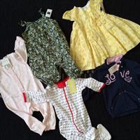 BrandNewBabyClothes 3-6months. All With Tags. 5pieces For 150Dhs Including Shipping So Average 30dhs Each Piece! From Left To Right