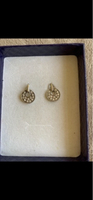 Used Pandora style silver 925 earrings  in Dubai, UAE