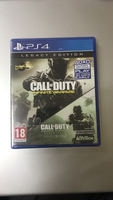 Used New PS4 game COD infinite warfare in Dubai, UAE