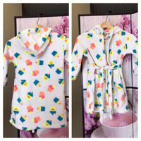 Cupcakes Hooded robe for girls✨