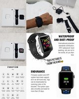 Used New smart watch x6 model in Dubai, UAE