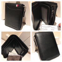 black williampolo leather wallet