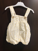 Used Preloved Girl Dress 6-12 months Yellow  in Dubai, UAE